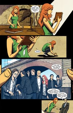 City of Bones graphic novel: Issue 5-when you can name all the people in the photograph