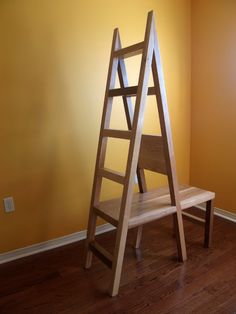 """Ladder Chair 2 by Soojung Park"" I love love love things - like me - that do more than one thing! And ladder/chairs are at the top of my list."