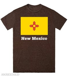 New Mexico, flag | The state flag of New Mexico, USA.  #Skreened