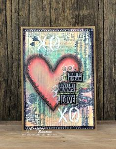 Handmade Inspirational Greeting Card by Crafting Emotion on Etsy $12.75AUD