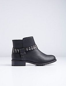 Studded Moto Boot