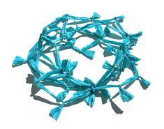 Paula Lindblom Necklace: Untitled, 2014 Plastic bags, plastic beads