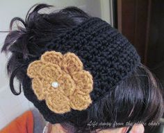 Life Away From The Office Chair: Ear warmer *Pattern*