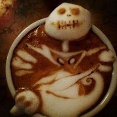 Kazuki Yamamoto's Jack Skellington Kaffee - http://www.dravenstales.ch/kazuki-yamamotos-jack-skellington-kaffee/