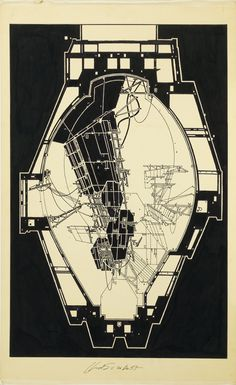 A new show of the visionary architect's drawings at SCI-Arc looks toward the legacy of Leb. Architecture Design, Architecture Drawings, Gothic Architecture, Classical Architecture, Landscape Architecture, Foster Architecture, Paper Architecture, Ancient Greek Architecture, Ancient Buildings