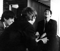 Richard Starkey, George Harrison, and John Lennon