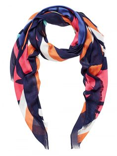 Sussan Abstract Print Scarf