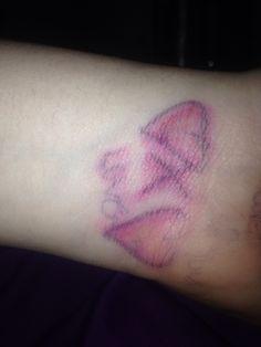 I wanna tattoo like this that I drew on myslef