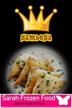 yuk diorder kue Sambosa khas Timur Tengah, ada Varian Daging dan Tuna, dengan bumbu Rempah yg menggoda