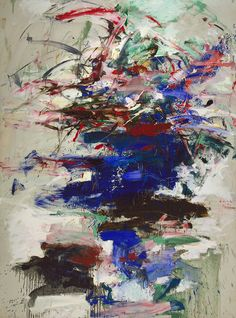 Joan Mitchell...abstract expressionism