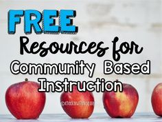 Community based instruction ideas to support your students in learning independent living skills. Teach students to participate meaningfully in community outings and develop an understanding of social skills. Life Skills Classroom, Teaching Social Skills, Teaching Resources, Classroom Reward System, Classroom Rewards, School Community, Rock Stars, Rubrics, Going To Work