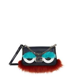 FENDI Micro Baguette Monster Bag.  fendi  bags  shoulder bags  hand bags   fur  clutch  . ModeSens c2f3c69b0c