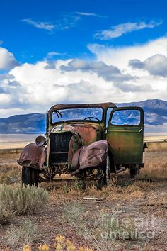 Vintage Old Truck: See more at:  http://fineartamerica.com/profiles/robert-bales.html