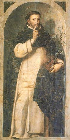 Catholic Art, Catholic Saints, Saint Dominic, Catholic Pictures, Madonna, Christianity, Angels, Painting, Groomsmen
