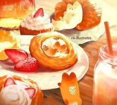 Honey Milk Fox 03.