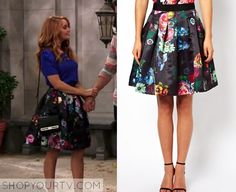 JESSIE: SEASON 3 EPISODE 22 JESSIE'S FLORAL PLEATED FULL SKIRT Posted on October 18, 2014 by Kirsty Jessie Prescott (Debby Ryan) wears this Pleated Floral Full Skirt in this episode of Jessie.  It is the Ted Baker Full Skirt in All Over Floral Print.