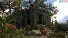 Cambodian Temple, Dulce Isis Segarra López on ArtStation at https://www.artstation.com/artwork/LlvnA