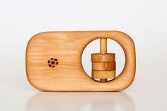 Organic Wooden Rattle