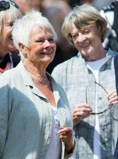 Judy Dench & Maggie Smith