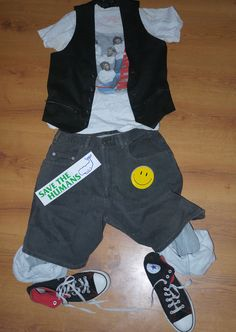 Bill & Ted's Excellent Adventure Custom Costume Cosplay theodore logan vtg VH