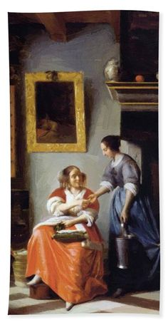 THE ASTRONOMER VERMEER PAINTING  WALL DECOR GIFT ART POSTER # 4 A3//A4 SIZE