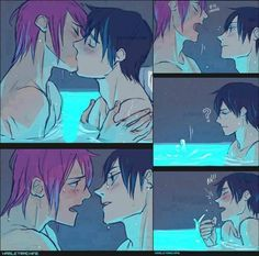 I will always pin this particular comic A) because of the art style B) because it's Rin and Haru C) FANSERVICE