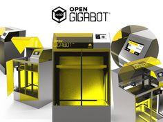 Open Gigabot : An Open Source, Gigabot 3D Printer Experiment's video poster