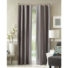 Better Homes and Gardens Graphite Curtain Panel