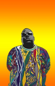 This Year For Your Birthday... GO BIG. by 8millionstories on Etsy #biggiesmalls #biggie #notoriousbig #notorious #christopherwallace #bigpoppa #rapslayer #readytodie #coogi #coogisweater #brooklyn #birthdaycard #8millionstories #etsy
