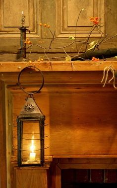 primitive homes on picturetrail Primitive Homes, Prim Decor, Country Decor, Candle Lanterns, Candle Sconces, Candle Box, Primitive Lighting, Oil Lamps, Decoration