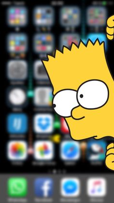 Bart Simpson iPhone 6