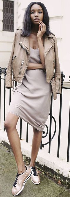 Shades Of Blush Fall Street Style Inspo by Bisous Natacha
