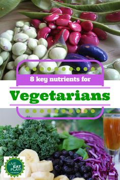Vegetarian diets generally supply adequate amounts of most nutrients, however, there are some key nutrients that may be lacking. Learn which ones and how to get enough!