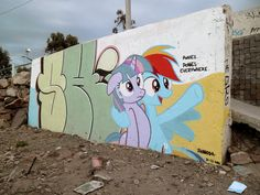 BRONY GRAFFITI ARTIST IN ARGENTINA MAKES MY LITTLE PONY EDGY
