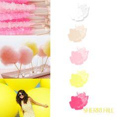 Sherri Hill Color Palette