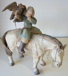 Sandra Courlivant (France) Sculptures, Lion Sculpture, Angel S, Belle Photo, Three Dimensional, Needle Felting, Pottery, France, Horses