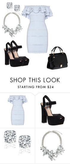 """""""Untitled #1338"""" by livy77 ❤ liked on Polyvore featuring Alexander McQueen, Steve Madden, Topshop and Miu Miu"""