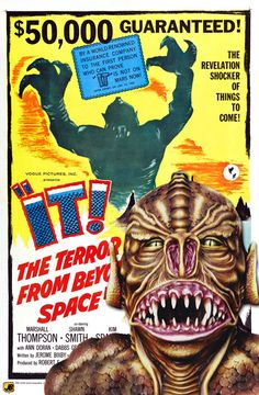 brought to you by http://www.williamotoole.com It! The Terror Beyond Space - Read more: http://horrorpedia.com/2012/10/30/its-alive-1974-film/
