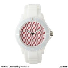 Nautical Christmas Wrist Watch