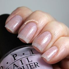 WPP: OPI Care to Dance and China Glaze Fairy Dust