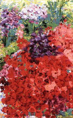 Small Garden Emil Nolde - 1908