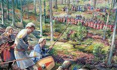 Германцы: коварные варвары против простодушных римлян Gallery, Painting, Pintura, Roof Rack, Painting Art, Paintings, Painted Canvas, Drawings