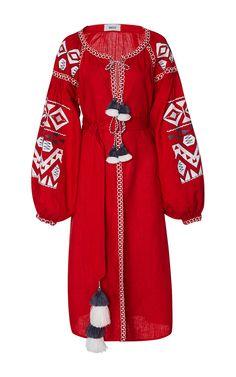 Kilim Midi Dress by MARCH11 for Preorder on Moda Operandi
