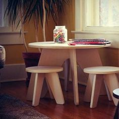 WOLF + FRIENDS — Why A Kids-Size Play Table + Chairs Is A Must-Have For Your Child's Social + Emotional Development.