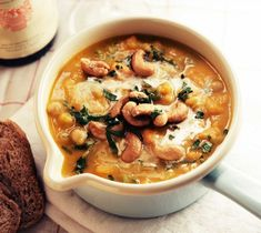 sweet potato soup with cashews by Yvette van Boven
