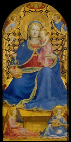 Fra Angelico - The Virgin of Humility