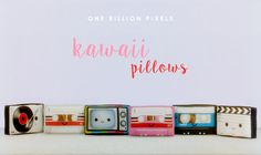 One Billion Pixels: Kawaii Pillows (The Sims 4)