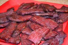 Weekend Food Project: Beef Jerky on the Big Green Egg - chrySSarecipes Grilling Recipes, Wine Recipes, Big Green Egg Smoker, Big Green Eggs, Jerkey Recipes, Green Egg Recipes, Smoking Recipes, Beef Jerky, Food Project