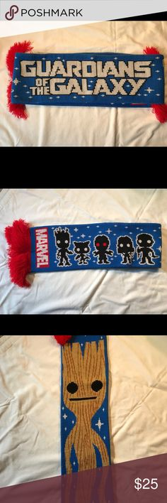 Marvel Comics Guardians of the Galaxy scarf Gently worn Marvel Comics Guardians of the Galaxy scarf. Marvel Accessories
