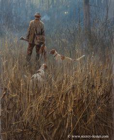 Headin Home     Not Just Wildlife Art of John & Suzie Seerey-Lester